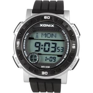 China Sporty Digital Radio Controlled Watch Men With 100M Water Resistant on sale