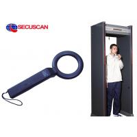 China Black Metal Detector Handheld Body Scanner for Detect Weapons on sale