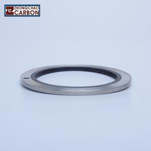 China Metal Inlaid Carbon Graphite Floating Ring Seal In Valve Seats High Strength on sale
