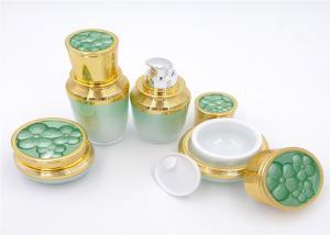 China Luxury Matt Purple Diamond Face Cream Containers 15ml 30ml 50ml Acrylic Ball Shape on sale