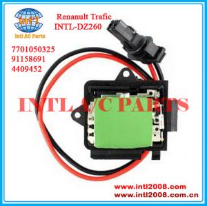 China heater Renanult Trafic vauxhall vivaro fan motor blower electrical resistor /resistance 7701050325 4409452 91158691 on sale