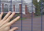 Welded welded wire fence panels for anti climb mesh fence flat plate
