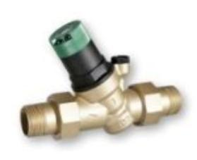 China Lead Free Brass Pressure Reducing Valve Female / Male Adjustable Pressure Control Valve on sale