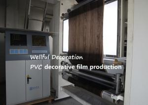 China Hard PVC Decorative Film 0.07mm Thickness,enviromental friendly on sale