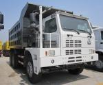 420HP Heavy Duty Dump Truck SINOTRUK HOWO Mining Dump Truck With Loading 70 Tons