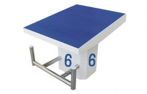 China Single Stage Starting Block Platform Swimming Pool Accessories Eco-friendly on sale