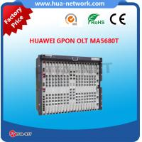 China 100% Original new 10U Black metal HUAWEI SmartAX EPON/GPON OLT MA5680T with GPFD,GPBD on sale