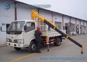 China Dongfeng Crane Mounted Truck With XCMG 2 T Crane 4x2 Drive Type on sale