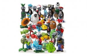 China Plants Vs Zombies Video Game Action Figures , Plastic Game Figurine For Souvenir on sale
