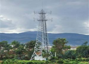 China Hot-Dip Galvanizing Mobile Angle-steel Telecom Tower For Communication With Q235B / Q345B Steel on sale
