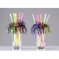 China 6mm Attactive disposable party decoration firework drinking straws,pack of 20count on sale
