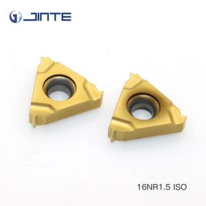 China External Internal Carbide Threading Inserts Nano - PVD Coating 16 IR 1.5ISO on sale