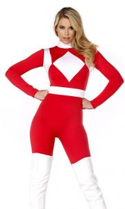 China Forceful Sexy Superhero Costume Wholesale with Size S to XXL Available on sale