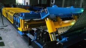 China Steel Silo Corrugated Side Panel Roll Forming Machine Arch Style Building Machine on sale
