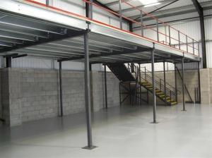 Building mezzanine floor racking industrial racking and for Mezzanine floor construction details