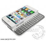 iPhone 5のためのIP001アルミニウムBluetoothのキーボード