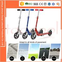 chinese producer factory aluminum steel iron adult teenager city big wheel kick scooter