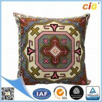 China Custom OEM Decorative Pillow Cover , Square Modren Throw Pillows With Polyester Or Cotton on sale