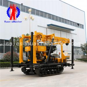 China Portable crawler type drilling artesin wells 200m water well drilling machinery for sale XYD-200 on sale
