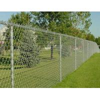 High Strength Decorative Chain Link Fence , PVC Coated Wire Mesh For Cages