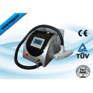 China Machine portative de retrait de tatouage de laser de commutateur de Q avec l'affichaged'affichage à cristaux liquidesde contact on sale