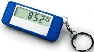 China DC3V 3D sensor pedometer, 7 days memory Calorie Counter Pedometer with CE and ROSH on sale
