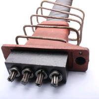 China Anti Rust Flat Post Tension Anchor For Building Prestressed Concrete on sale