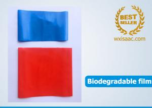 China Biodegradable plastic film for biodegradable bags / biodegradable packaging on sale