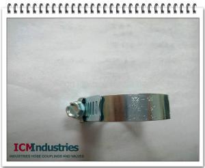 China stainless steel hose clamps on sale
