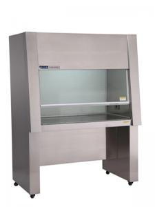 China 304 Stainless Steel Vertical Laminar Flow Hood Class 100 Low Noise Level on sale