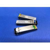 Hot Pluggable Single Mode Fiber Module TX 1310nm RX 1550nm FE BIDI 20KM Simplex LC