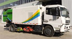 China Street Cleaner Special Purpose Vehicles Road Sweeper Truck 8tons on sale