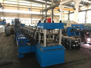 China Cassette Type Guardrail Roll Forming Machine with M Shape profile interchangeable on sale