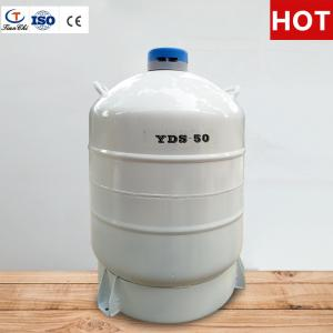China TianChi liquid nitrogen storage container 50L in El Salvador on sale