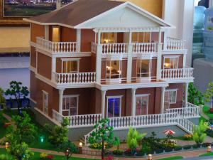 China Well quality architectural scale model with led lights ,3d house scale model maker on sale