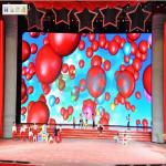 Lightweight P3.91 Indoor Full Color Led Display Screen For Stage / Supermarkets