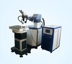 China YAG Type Automatic Spot Laser Welding Machine With Microscope CCD on sale