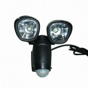 China 6W lámpara humana infrarroja de la inducción del doble LED, lámpara de la inducción del garaje on sale