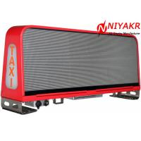 Programmable Taxi Roof LED Display Mobile Advertising LED Taxi Sign Double Sides