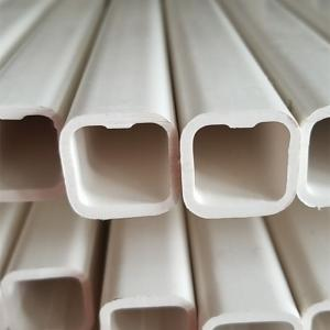 China Plastic 22x22mm Square Chicken Feeder Pvc Pipe For Poultry Drinking System on sale