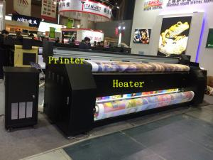 China Easy Operate Custom Sublimation Printing Machine For Fabric 2 Epson DX7 Print Head on sale