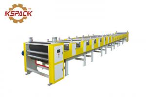 China Compact Structure Corrugated Board Production Line , Second Hand Corrugated Box Making Machinery on sale
