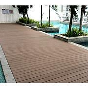China wpc decking flooring on sale