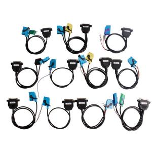 China Auto Diagnostic Interface , Full Set Cables For Digiprog III Digiprog 3 Odometer Programmer on sale