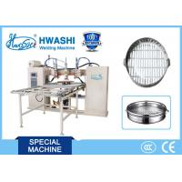 Automatic Cookware Stainless Steel Welding Machine , Food Steamer DC Spot Welder