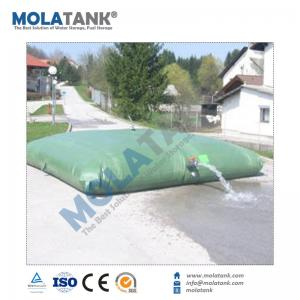 China Molatank 500L to 500,000L Customized plastic flexible pvc water tank for water treatment on sale