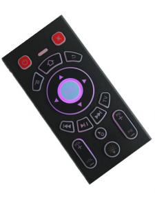 China Backlit Rechargeable Remote Control , Portable Keyboard And Mouse For Tablet on sale