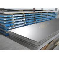 Thin 4 X 10 Stainless Steel Metal Sheet / Decorative Mirror Finish Stainless Steel Sheet