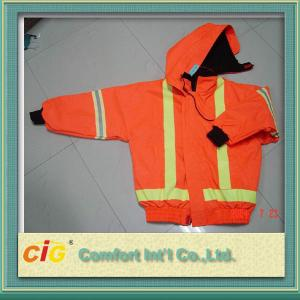 China Waterproof Warmly Reflective Safety Vests with Pockets S - 3XL for Traffic Workers on sale