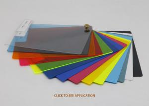 China Polished Colored Polycarbonate Sheets For Helmets on sale